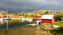 Idyll på Ramsö i slutten av juni 2013